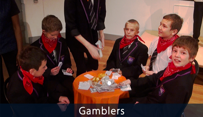 The Gamblers photo from VoiceChoice project at BBA School Nottingham